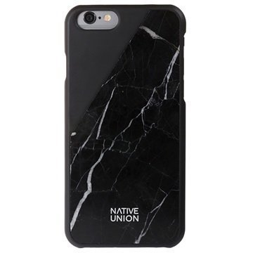 iPhone 6 / 6S Native Union Clic Marble Suojakuori Musta