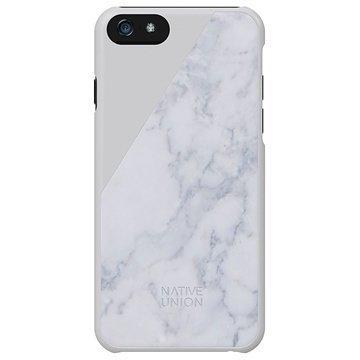iPhone 6 / 6S Native Union Clic Marble Suojakuori Valkoinen