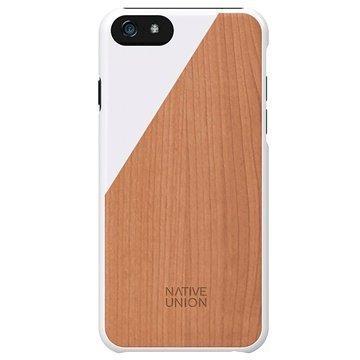 iPhone 6 / 6S Native Union Clic Wooden Puinen Suojakuori Valkoinen