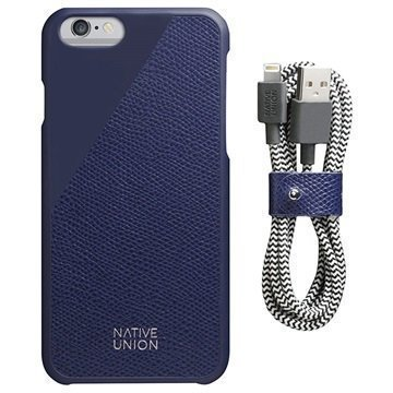 iPhone 6 / 6S Native Union Nahka Edition Setti Marine