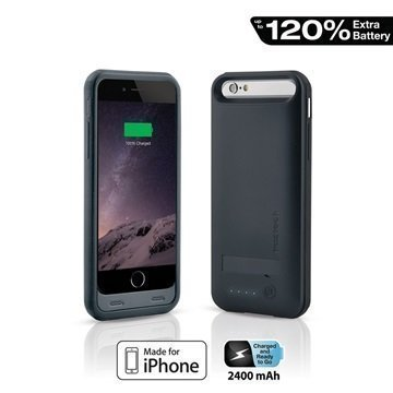iPhone 6 / 6S Naztech Akkukotelo Musta