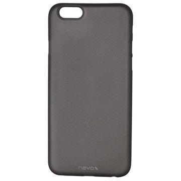 iPhone 6 / 6S Nevox StyleShell Air PP Suojakuori Läpinäkyvä Musta