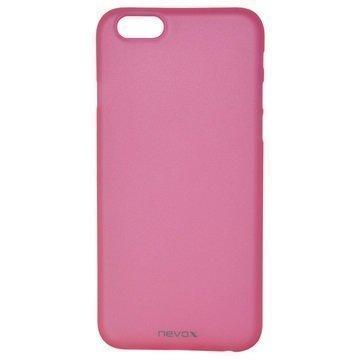 iPhone 6 / 6S Nevox StyleShell Air PP Suojakuori Läpinäkyvä Pinkki
