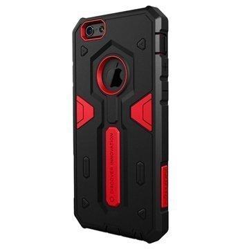 iPhone 6 / 6S Nillkin Defender II Series Hybrid Suojakuori Musta / Punainen