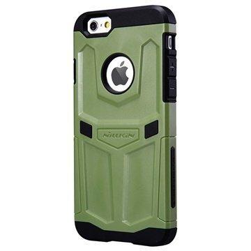 iPhone 6 / 6S Nillkin Defender Series Hybrid Suojakuori Armeijanvihreä