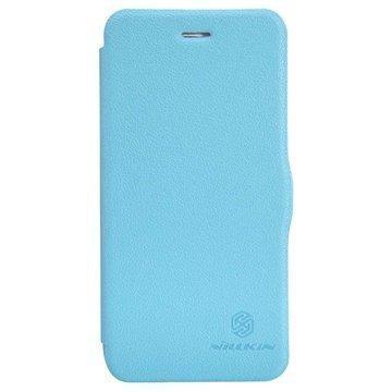 iPhone 6 / 6S Nillkin Fresh Series Läpällinen Nahkakotelo Sininen