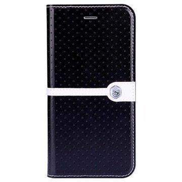 iPhone 6 / 6S Nillkin Ice Series Flip Nahkakotelo Musta