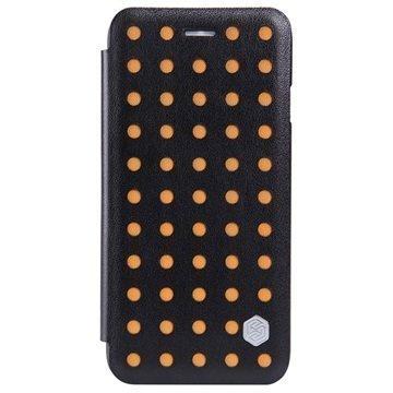 iPhone 6 / 6S Nillkin Pop Series Folio Kotelo Oranssi