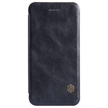 iPhone 6 / 6S Nillkin Qin Series Läppäkotelo Musta