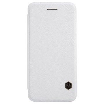 iPhone 6 / 6S Nillkin Qin Series Läppäkotelo Valkoinen