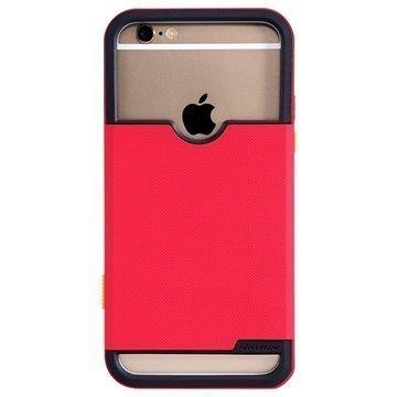 iPhone 6 / 6S Nillkin Shield Show Sarjan Valokuvauskotelo Punainen
