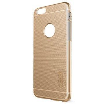 iPhone 6 / 6S Nillkin Super Frosted Shield Suojakotelo Kultainen