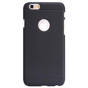 iPhone 6 / 6S Nillkin Super Frosted Shield Suojakotelo Musta
