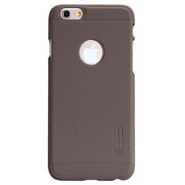 iPhone 6 / 6S Nillkin Super Frosted Shield Suojakotelo Ruskea