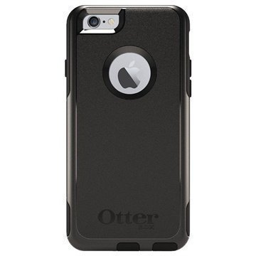 iPhone 6 / 6S OtterBox Commuter Series Kotelo Musta