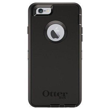 iPhone 6 / 6S OtterBox Defender-Sarjan Suojakotelo Musta