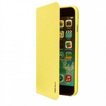 iPhone 6 / 6S Ozaki O!Coat 0.3 Folio Lompakkomallinen Nahkakotelo Wasabi