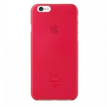 iPhone 6 / 6S Ozaki O!Coat 0.3 Jelly Kotelo Punainen
