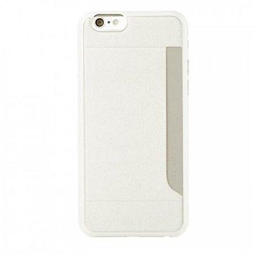 iPhone 6 / 6S Ozaki O!Coat 0.3 Pocket Kotelo Valkoinen