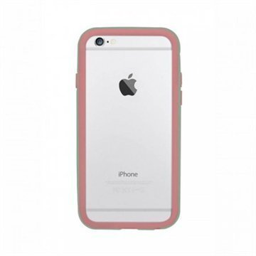 iPhone 6 / 6S Ozaki O!Coat Shock Band Suojapuskuri Pinkki / Syaani
