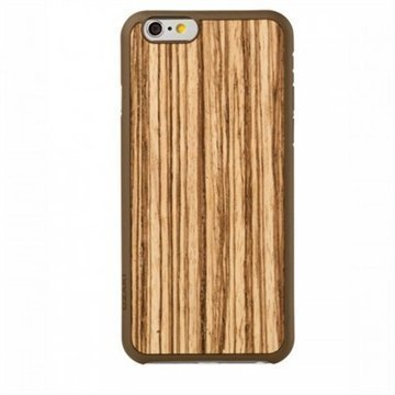iPhone 6 / 6S Ozaki Wood Ultraohut Snap-on Kuori Zebrano