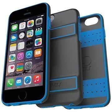 iPhone 6 / 6S Peli Guardian Kovakotelo Musta / Sininen
