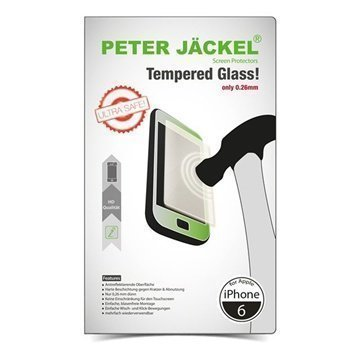 iPhone 6 / 6S Peter Jäckel Ultra Thin Tempered Glass Screen Protector