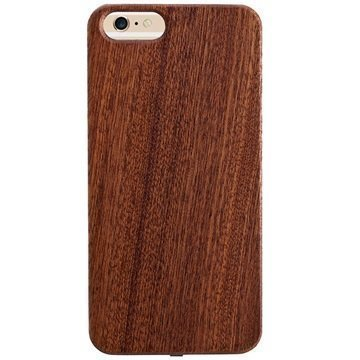 iPhone 6 / 6S Peter Jäckel Woody Wireless Charging Case Dark Brown
