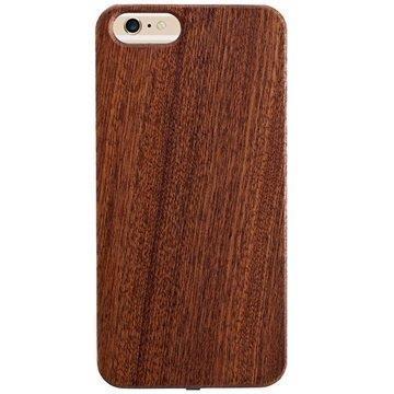 iPhone 6 / 6S Peter Jäckel Woody Wireless Charging Case Dark Brown