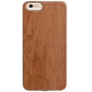 iPhone 6 / 6S Peter Jäckel Woody Wireless Charging Case Light Brown