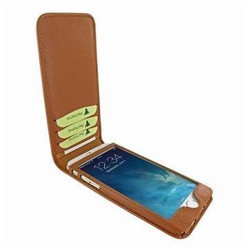 iPhone 6 / 6S Piel Frama Classic Magnetic Nahkakotelo Ruskea