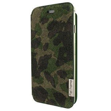 iPhone 6 / 6S Piel Frama FramaSlim Nahkakotelo Camouflage