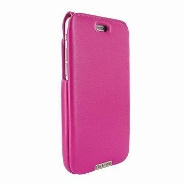 iPhone 6 / 6S Piel Frama iMagnum Nahkakotelo Fuksia