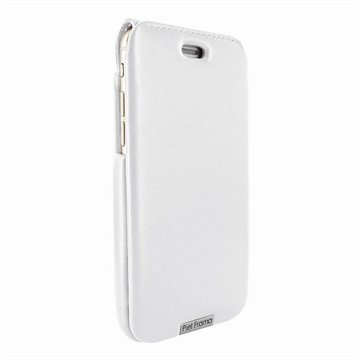 iPhone 6 / 6S Piel Frama iMagnum Nahkakotelo Valkoinen