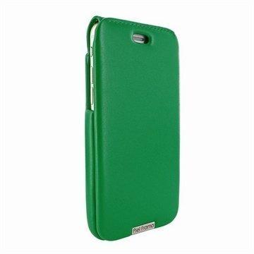 iPhone 6 / 6S Piel Frama iMagnum Nahkakotelo Vihreä