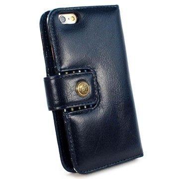iPhone 6 / 6S Plus Alston Craig Vintage Avattava Aito Nahkakotelo Kuninkaallisen Sininen