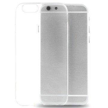 iPhone 6 / 6S Puro 0.3 Ultra Slim Nude Silikonikotelo Läpinäkyvä