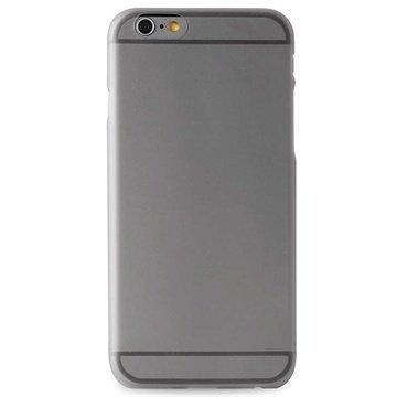 iPhone 6 / 6S Puro 0.3 Ultra Slim Silikonikotelo Musta