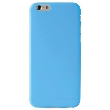 iPhone 6 / 6S Puro 0.3 Ultra Slim Silikonikotelo Sininen