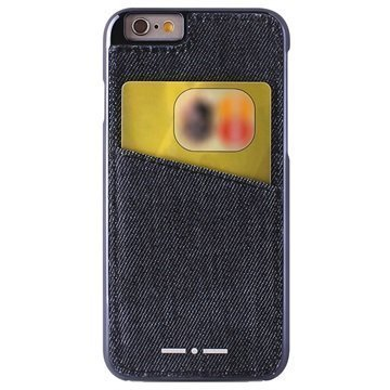 iPhone 6 / 6S Puro Italia Independent Farkkukotelo Sininen