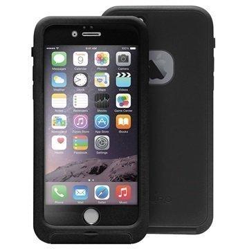 iPhone 6 / 6S Puro Lander Kotelo Musta