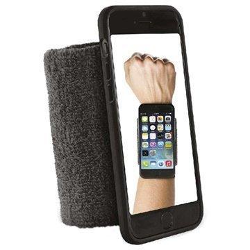 iPhone 6 / 6S Puro Running Käsivarsihihna Musta