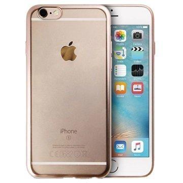 iPhone 6 / 6S Puro Satin Frame TPU-Kotelo Kulta