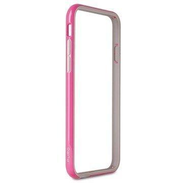 iPhone 6 / 6S Puro Silicone Puskuri Pinkki