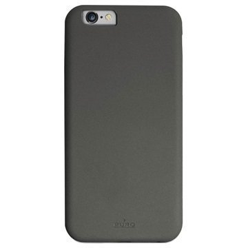 iPhone 6 / 6S Puro Soft Touch Kotelo Space Harmaa