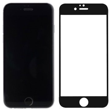 iPhone 6 / 6S Rock Näytönsuoja Karkaistua Lasia Matta Musta