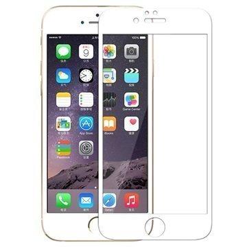 iPhone 6 / 6S Rock Näytönsuoja Karkaistua Lasia Valkoinen