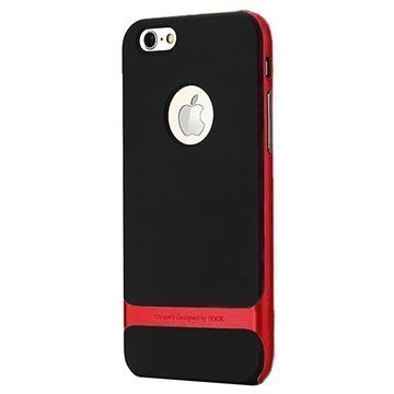 iPhone 6 / 6S Rock Royce Series Kotelo Punainen