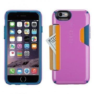 iPhone 6 / 6S Speck CandyShell Korttikotelo Orkideanvioletti / Syvänmeren Sininen