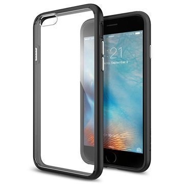 iPhone 6 / 6S Spigen Ultra Hybridikotelo Musta
